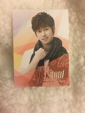 DBSK TVXQ YUNHO U-know Smtown Live World Tour III Official photocard KPOP K-pop