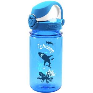 Nalgene Kids On the Fly Water Bottle - 12 oz.- Chomp Blue/Blue
