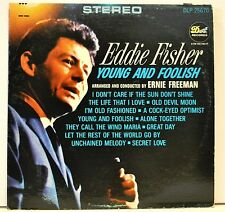 "EDDIE FISHER  ""Young and Foolish"" - Unchained Melody & other hits - Vinyl LP"
