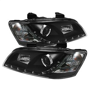 Spyder Auto 5011626 DRL LED Projector Headlights Fits 08-09 G8