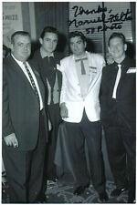 Narvel Felts - Country - hand signed Autograph Autogramm - Foto mit Johnny Cash