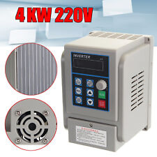 4KW 220V 5HP Single to 3 Phase PWM Frequency Converter Drive Inverter VFD VSD