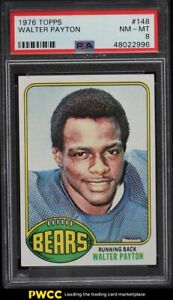 1976 Topps Football Walter Payton ROOKIE RC #148 PSA 8 NM-MT