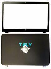 New HP Probook 450 455 G2 LCD Back Cover 768123-001 + Front bezel US Seller