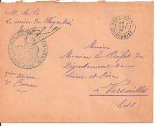 LETTRE,COVER,LSC;Seine et Oise;MAIRIE CLERY EN VEXIN;MAGNY;7/10/1905,Franchise