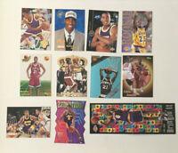 Eddie Jones 11 card Rookie & Insert Lot! Zensations-Gold Crown-Lottrey Pix NICE!