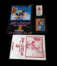 SKI COMMAND CASIO 3 MSX MSX2 Rom JAP Completo GPM-103