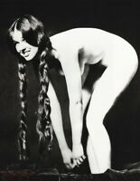 1961 Sam Haskins Female Nude Naked Woman Hair Braids Vintage Photo Gravure Art