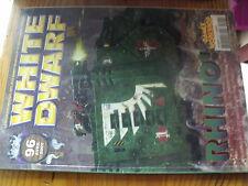 µ? Revue White Dwarf n°96 Warhammer Faire table de jeu TAU Soldat Tanith