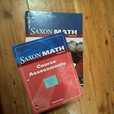 Saxon Math Course 2 TEACHERS MANUALS VOLUMEs 1 & 2