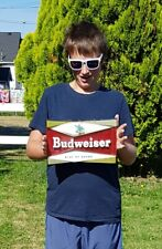 RARE Vintage BUDWEISER Beer Sign