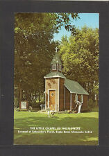 POSTCARD:  LITTLE CHAPEL OF THE FLOWERS at SCHROEDER'S FLORAL - EAGLE BEND, MN