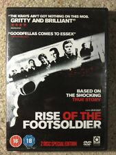 Rise Of The Footsoldier - Like New R2 DVD - Damage Case See Photo