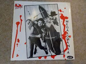 "The Blood Megalomania Vinyl 7"" single 1983 1st pressing Oi 22 rare punk"