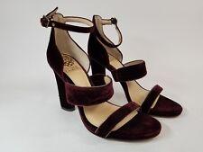 Vince Camuto Purple Velvet Strappy Heels Sz 7M