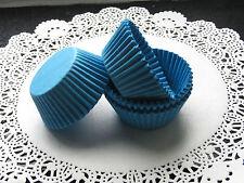 100x Small Blue Cupcake Fairycake Muffin Cases 4.5cm Base Diameter