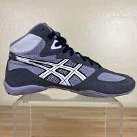 Asics Matflex Athletic Wrestling Shoes Mens Size 8.5 Gray / White