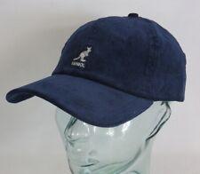 KANGOL CORD BASEBALL CAP Cotton Basecap Baumwolle Kord Kappe Mütze blau Neu