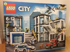 Lego City Police Station 60141 Brand New In Box 7 mini figurers