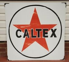 CALTEX ENAMEL SIGN (MADE TO ORDER) #39