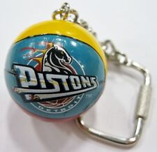Detroit Pistons NBA Basketball Key Ring by J.F. Sports