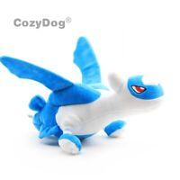 """Anime Latios Soft Plush Toy Stuffed Animal Doll Teddy Figure 12"""" Blue Teddy Gift"""