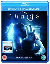 Rings [Bluray] [2017] [Region Free] [DVD]
