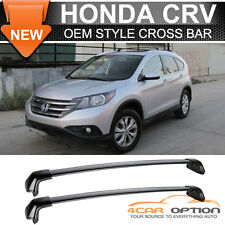 12-16 Honda CRV CR-V OE Style Roof Rack Cross Bar Black Polish