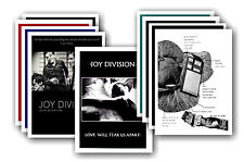 JOY DIVISION  - 10 promotional posters - collectable postcard set # 2