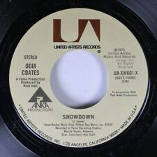 Soul Unplayed Nm! 45 Odia Coates - Showdown / Don'T Leave Me In The Morning On U