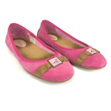 Sperry Top-Sider Womens Flats Leather Loafer Driving Pink Size 7 M 9510660
