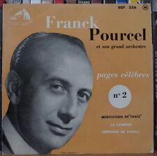 "FRANCK POURCEL PAGES CELEBRES N°2 45t 7"" FRENCH EP"