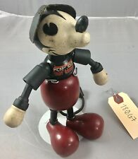 "6"" Antique American Composition Walt Disney's Mickey Mouse Doll! Rare! 18067"