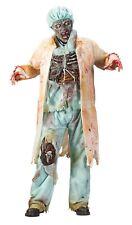 Fun World Zombie Doctor 7 Piece Adult Teen Halloween Costume Mask Walking Dead