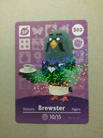 Animal Crossing Amiibo Karte Brewster/Kofi #302