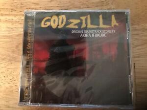 AKIRA IFUKUBE - GODZILLA  NEW SEALED SOUNDTRACK CD