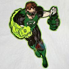 Green Lantern Embroidered Big Patch Super Powers Back Friends Comics Hal Jordan