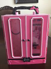 Barbie Doll Pink Carrying Case