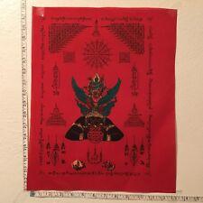 Pha Yant Jatukam Rahu Krut Horse Clothe Thai Amulet Luck Rich Wealth Protect