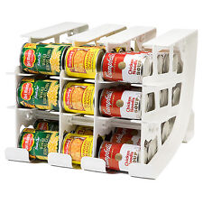 Can Food Organizer Storage Kitchen Pantry Shelf Cabinet Rack Canned Good  Holder