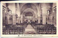 CP 80 Somme - Mers-les-Bains - Intérieur de l'Eglise