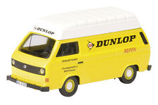 "VW T3 with high roof ""Dunlop"" - 1:87 / H0 Gauge - Schuco (25624)"