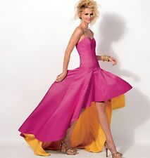 Sewing PATTERN McCalls Women's Prom Dress 14 to 22 Strapless Train 6701