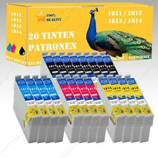 20 x no originales cartuchos de tinta compatibles para Epson HOME XP215 XP225