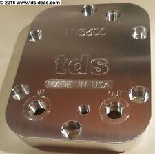 TDS - PTO Cooler Cover, Dodge NV5600, Proper fluid level, 1/8 NPT, USA Made!