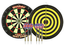 Winmau FAMILY DARTS AND BOARD SET Complete package deal