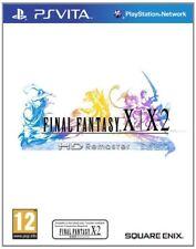 Final Fantasy X / X-2 HD Remaster PS Vita For PAL PS Vita (New & Sealed)