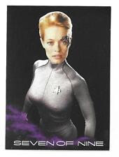 Star Trek Voyager Heroes & Villains Black Gallery 7 of 9 Rewards Redemption BB10