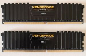 Corsair Vengeance LPX Black 16GB (2x8gb) 3200MHz DDR4 RAM Memory Kit