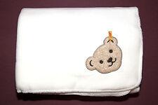 Steiff Fleecedecke Babydecke Decke Kuscheldecke cloud weiß  95 x 65 cm 2016